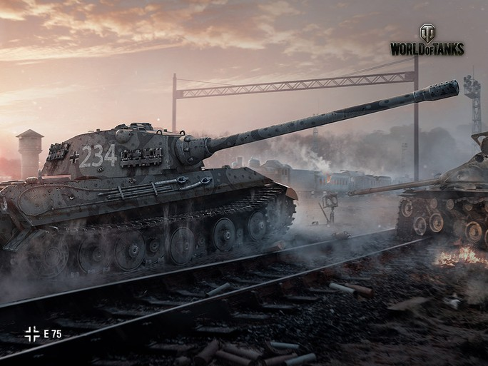 E 75 | Арт | World of Tanks
