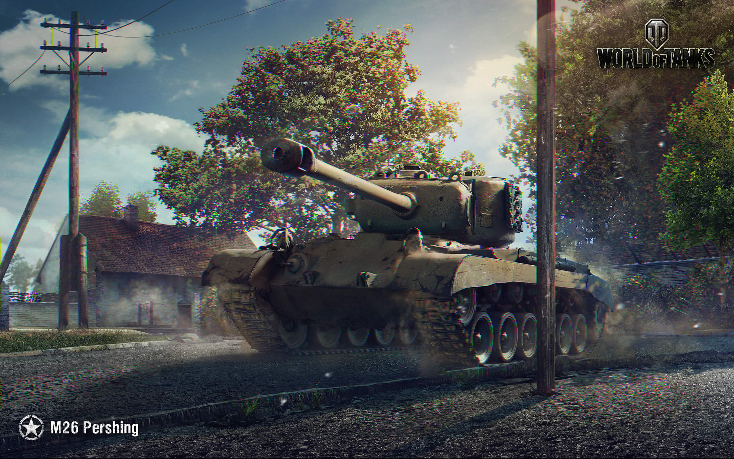 рисунок World Of Tanks Pershing